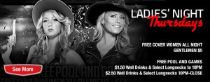 Ladies Night Thursdays @ Guitars & Cadillacs Dallas | Dallas | Texas | United States