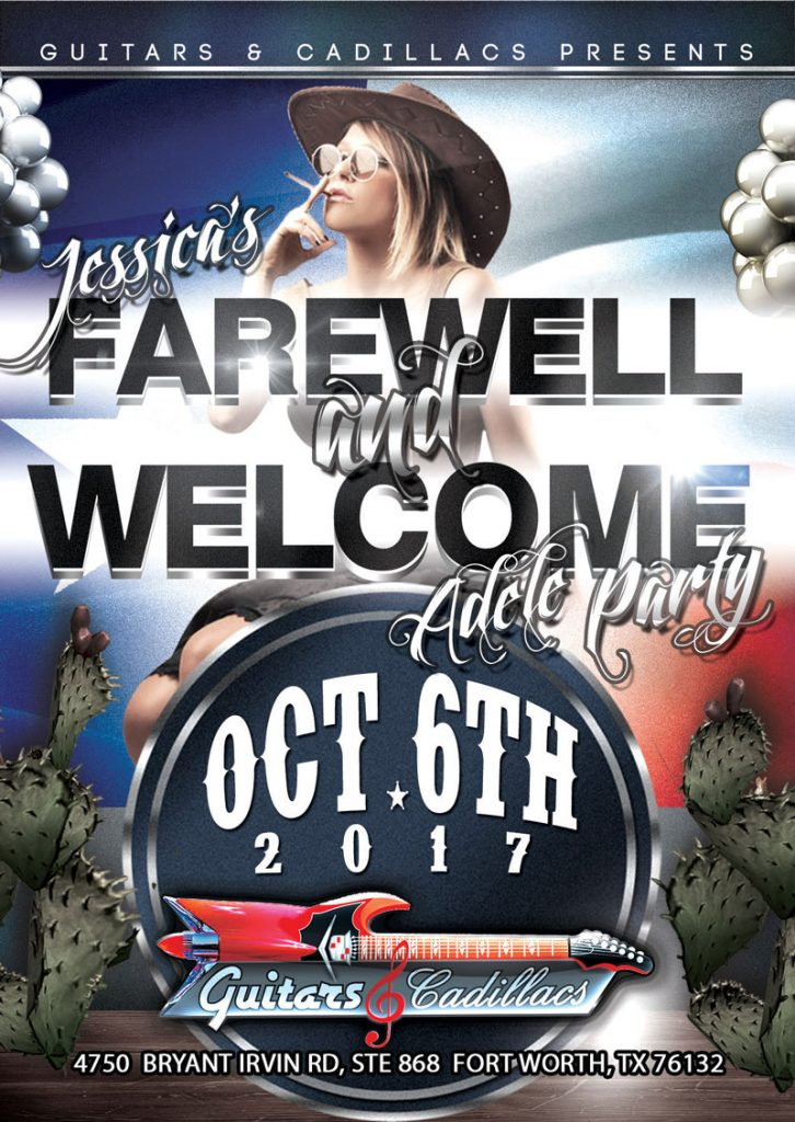 Farewell Jessica, Welcome Adele Party